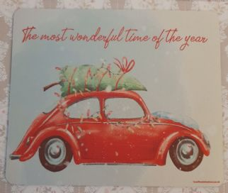 It's The Most Wonderful Time Of Year Beetle Mouse Mat